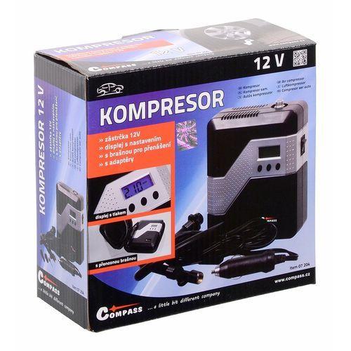 Kompresor 12V Digitální